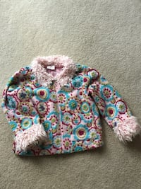 Hanna Anderson  used girls polyester , acrylic , wool blend a Fall jacket. Your little girl needs this! Charles Town, 25414