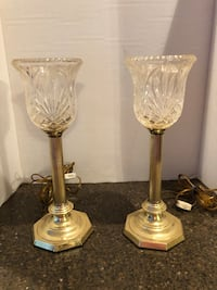 "Set of 2 14"" Vintage Lamps Manassas, 20112"