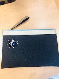 Blue Spider Zipper Clutch Fairfax, 22033