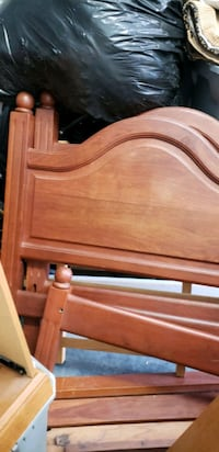 Solid wood bed frames from Argentina Murray