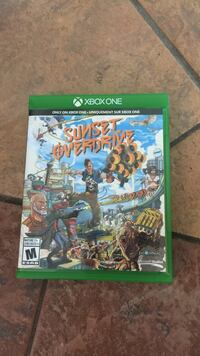 Sunset Overdrive Xbox One game case