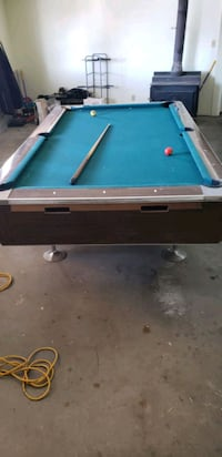 blue and brown pool table Salmon, 83467