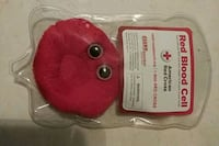 Giant microbes plush red blood cell Wichita, 67208