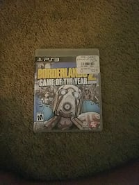 Sony ps3 borderlanz game of the year edition game case San Angelo, 76903
