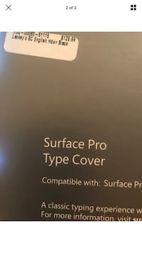 Microsoft 1725 Type Cover Black for Surface Pro 3 New York, 11385