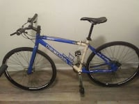 blue and white Bianchi hardtail mountain bike Toronto, M5A 3T5