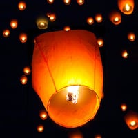 New Chinese Sky Lanterns (Package of 50 New ) Centreville