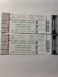 Concert Tickets Trans-Siberian Orchestra Mississauga, L4W 3A2