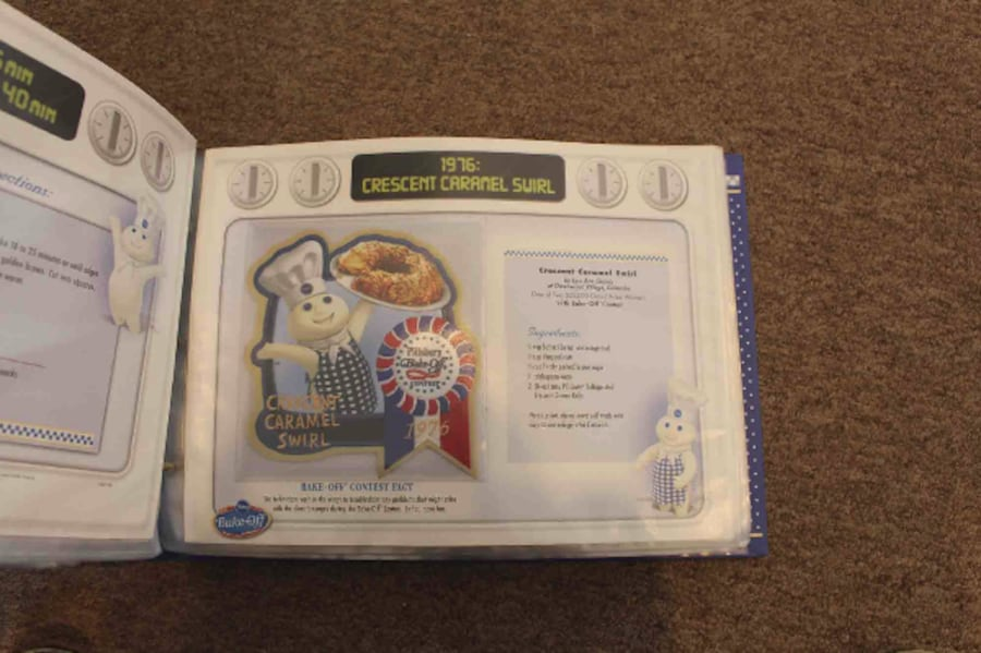 Pillsbury Bake-Off Patch Collection Cookbook 7