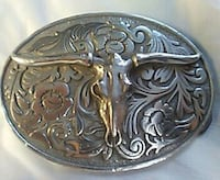 Pewter belt buckle Eau Claire, 54703