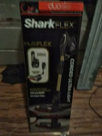 black and gray Shark upright vacuum cleaner box Whittier, 90606