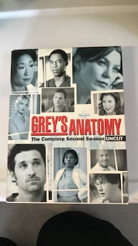Grey's Anatomy The Complete Second Season Uncut DVD case Victoria, 77905