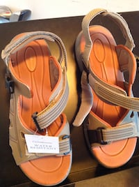 taupe-and-orange outdoor sandals Windsor, N9A 1P7