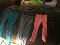 three assorted color pants and one black shorts Windham, 03087