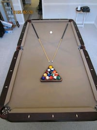 Custom made 8 ft pool table for sale
