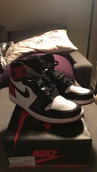 Air Jordan 1 Black Toe (2016) size 11 Los Angeles, 90046