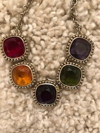 Gold & Multi-Colored Gemstone Necklace  Gainesville, 20155