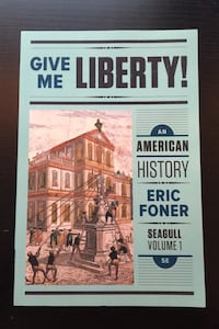COLLEGE US HISTORY TO 1877 TEXTBOOK Spring, 77379
