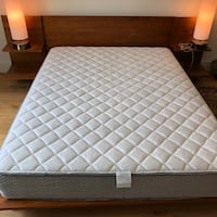 Queen bed and mattress from CB2 Los Angeles, 90046