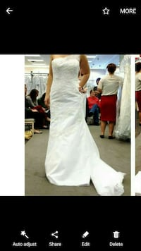 brand new (with tags) wedding dress and cathedral  Frederick, 21704