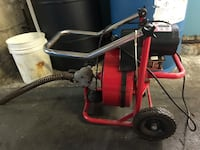 craftsman Chicago 50' drain cleaner with power feed