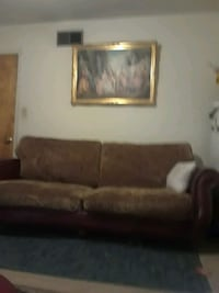 Leather loveseat and couch Manteca, 95336