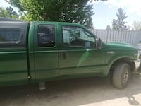 AMAZING DEAL  2003 F250 superduty Triton V10 green