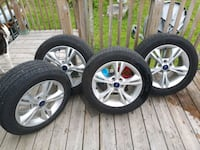 215/55R16 General Altimax RT43 On Ford Focus Rims Portuguese Cove, B3V 1K1