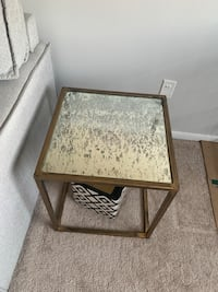 Gold Mercury end table  Falls Church