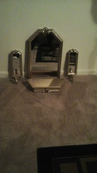 Original Home Interior mirror, shelf and sconces Newport News, 23602
