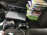 Xbox 360 19 games 120mb hard drive 2 controllers and a Kinect Greensboro, 27406