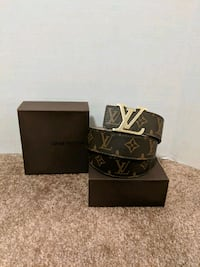 Brown LV Monogram belt  Mississauga, L5B 2C9