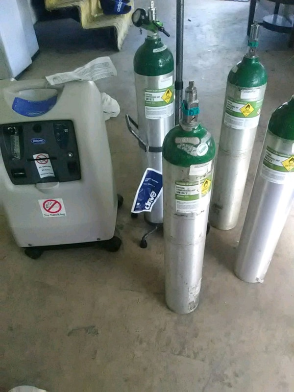 Oxygen Tank For Sale >> Medical Oxygen Tank Un1072 Adjustable Cart 2 Gr