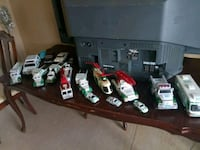 assorted die-cast car toys
