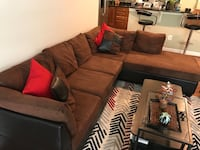 Sectional couch with chaise Alexandria