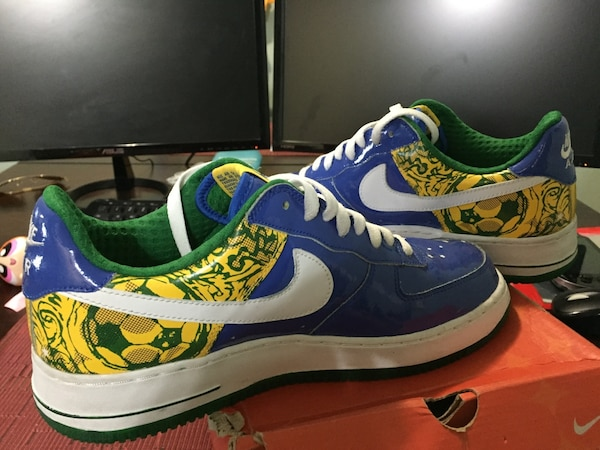 separation shoes a27d5 504e5 Used Nike Air Force Ronaldinho 1 PRM Exclusive World Cup Edition Size 8.5  like new in box for sale in Elizabeth - letgo