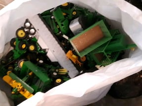 Toys lots of JD,IH,NH $1each lowest price 99%of them are new