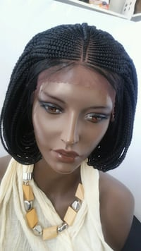 Fully Hand Braided Lace Wigs