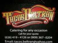 Mobile Taco catering Montclair