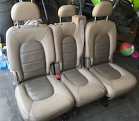 2003 Ford Explorer Rear Leather Seats