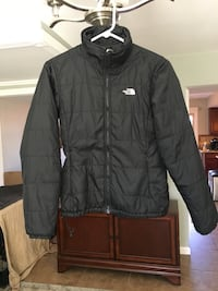 Women's small black north face jacket