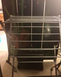 COLLAPSABLE DRYING RACK WITH WHEELS (VERY STURDY)! Falls Church, 22043