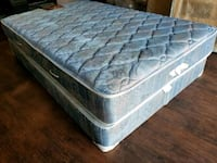 Queen mattress 120 box $40 delivery 30. Flipable
