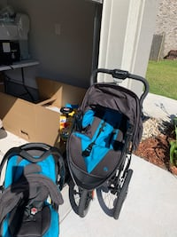Car seat and 3 wheel stroller Boutte, 70039