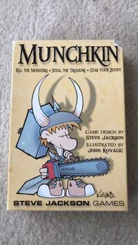 Munchkin Base Game & Expansion Sets