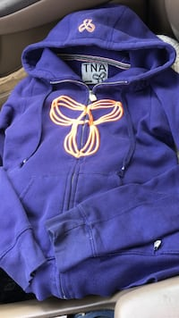 TNA zip-up size XS London, N5Y 4W5