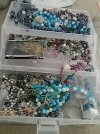 assorted color bead lot in box Virginia Beach, 23452
