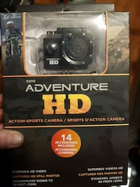 black Cobra Adventure action camera pack