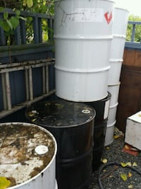 white and gray water heater Nanaimo, V9R 2J6