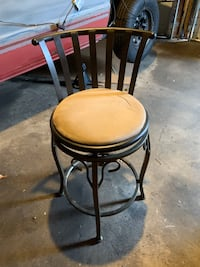 Two matching barstools